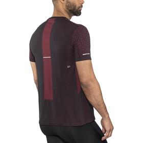 asics Seamless SS Texture Koszulka do biegania z krótkim rękawem Mężczyźni Mugen Pack czarny